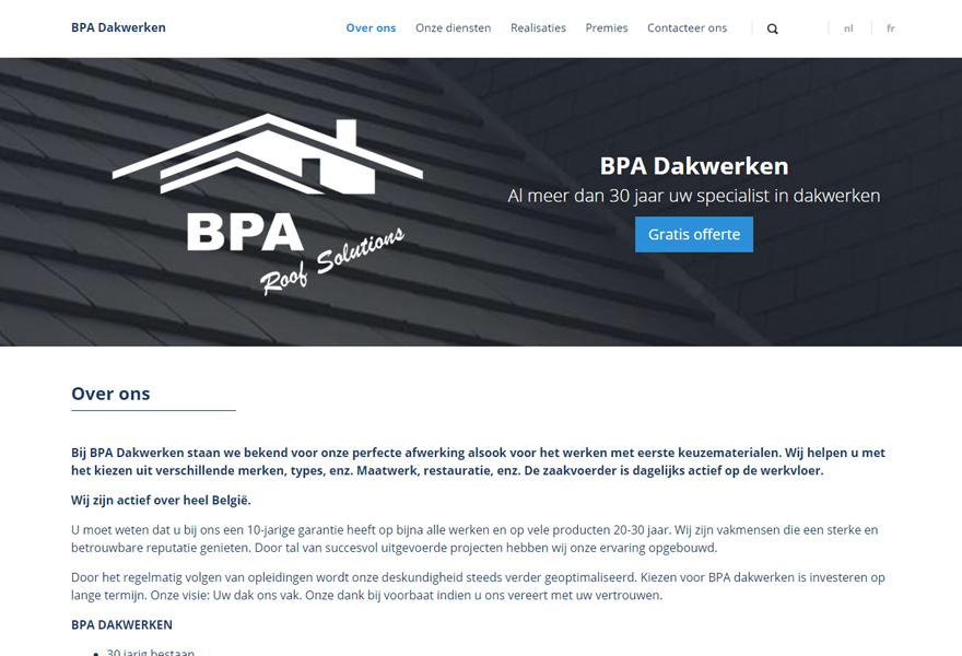 BPA Dakwerken